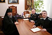 Архиепископ Красноярский Антоний встретился с главным судебным приставом России
